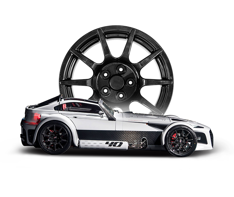 Donkervoort BST Carbon Fibre Car Wheels