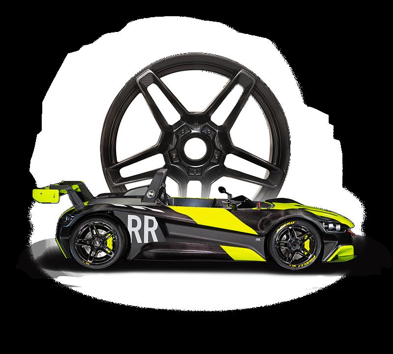 VUHL's 05RR with BST Carbon Fibre Car Wheels