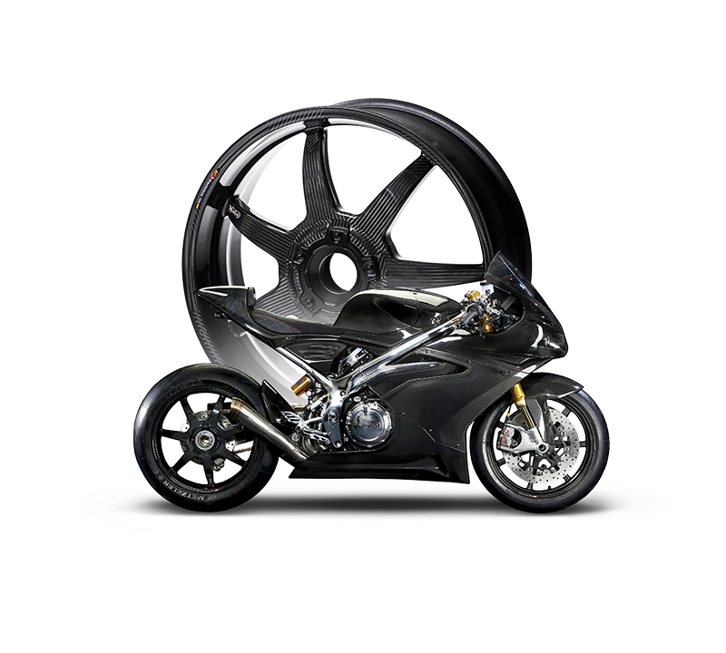 Norton BST OEM Carbon Fibre Wheels