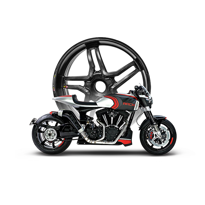 ARCH Motorcycles BST Carbon Parts