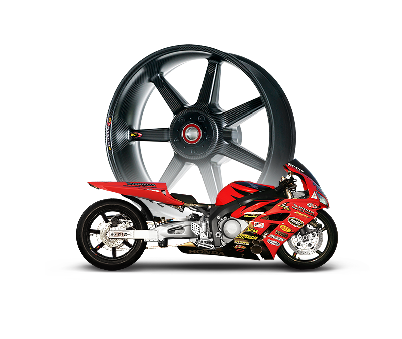 Drag Racing Carbon Fibre Wheels