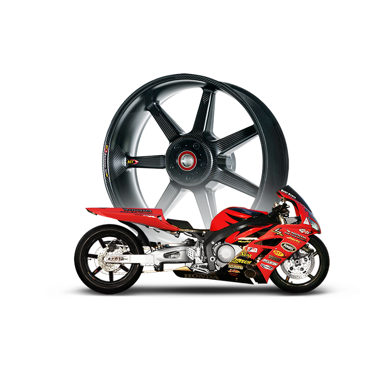 Drag Racing Carbon Fibre Wheels