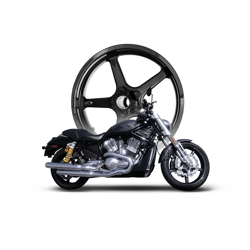 American V-Twin BST Carbon Fibre Wheels