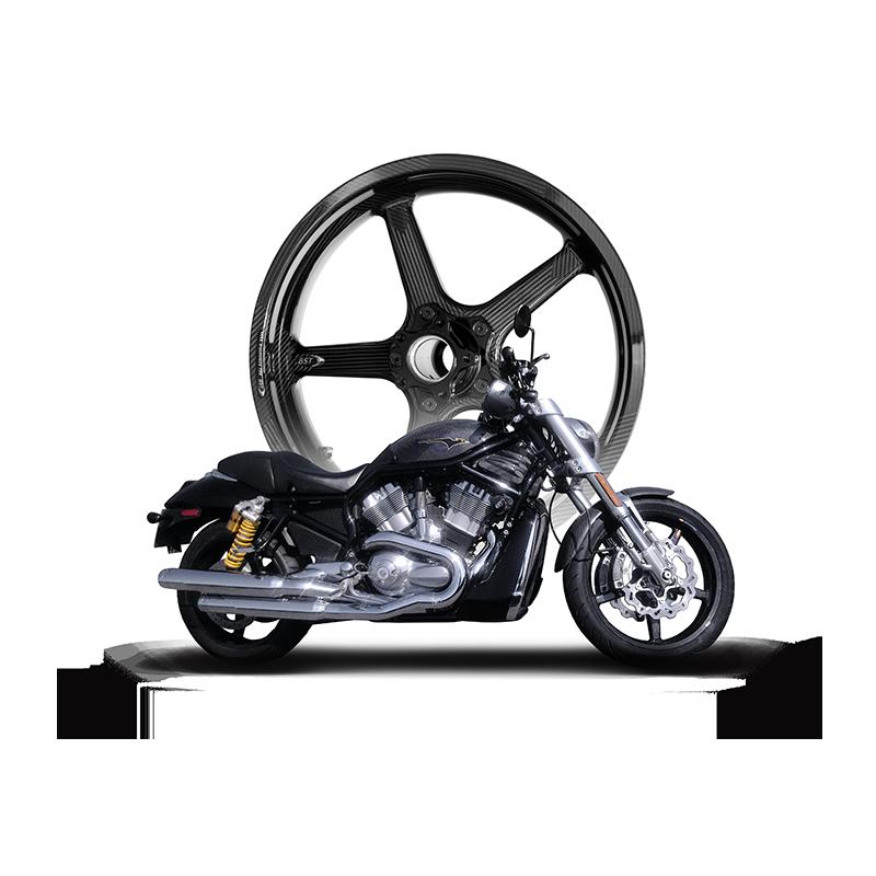 American V-Twin BST Carbon Fibre Wheels