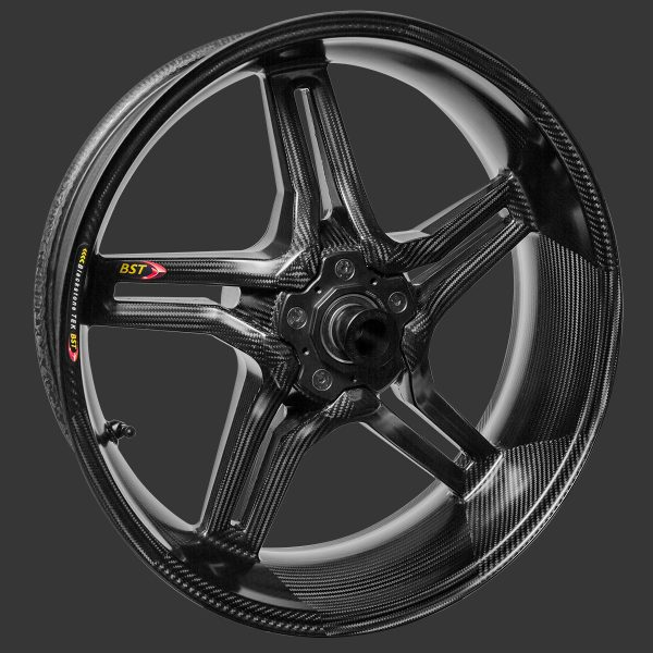 BST Rapid TEK Conventional Rear Carbon Fibre Wheel